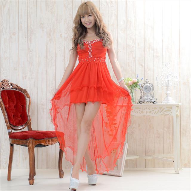 セクシー 可愛い ロングドレス