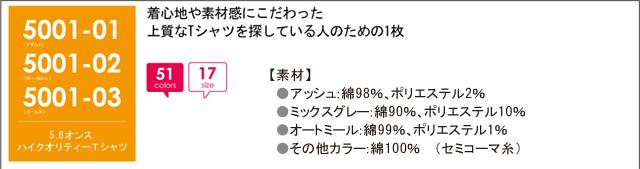 オリプリ5.6オンス コミコミ1980 ハイクオリティーTシャツ クオリティ