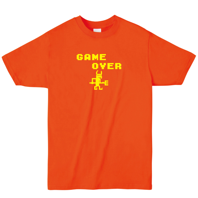【MISSY MISTER】ゲームオーバーロゴプリントTシャツ