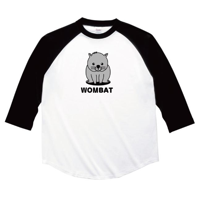 ウォンバット 七分袖 Tシャツ レディース ファッション