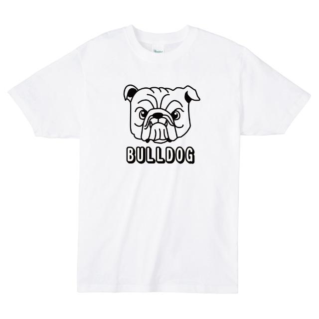ブルドックロゴプリントTシャツ ブサ可愛い オリジナル レディースファッション 通販 エナー ener