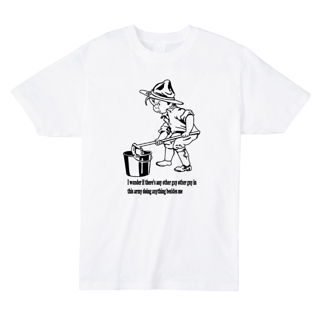 i wonder if there's any other guy プリントTシャツ オリジナル ファッション