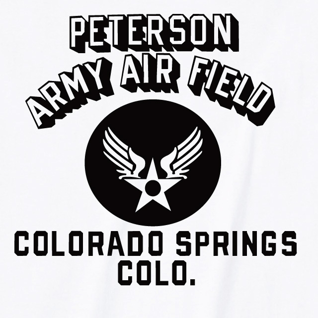 PETERSON ARMY AIR FIELD Tシャツ ミリタリー ロゴ