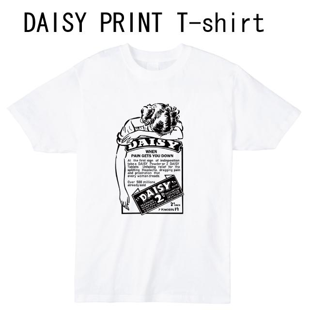 DAISYプリントTシャツ オリジナル 受注生産
