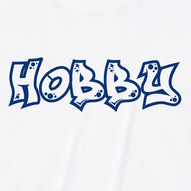 HOBBYロゴプリントTシャツ オリジナル
