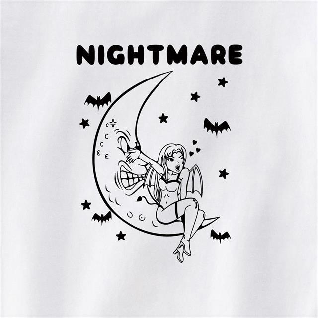 吸血鬼プリントTシャツ おもしろ アメコミ POP キャラクター レディース メンズ