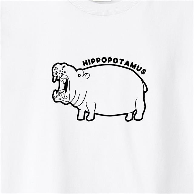 カバプリントTシャツ おもしろ 動物