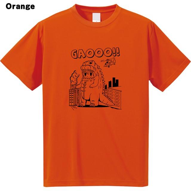 ガオーロゴプリントドライTシャツ